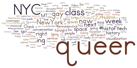 Notes from Queer(ing) New York: Refusing Binaries in Online Pedagogy