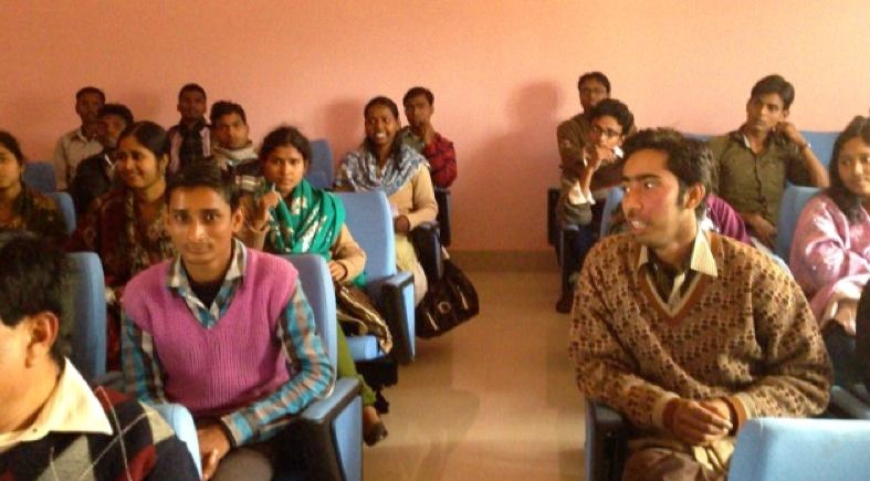 Figure 1. Students at Sido Kanhu Murmu University