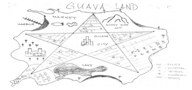 Figure 9. A map of Guavaland.