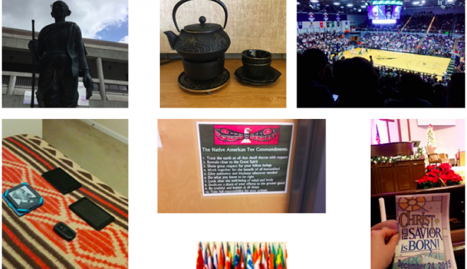 """Figures 2 – 8. Students' Images Related to Photovoice Theme """"Socialization"""""""