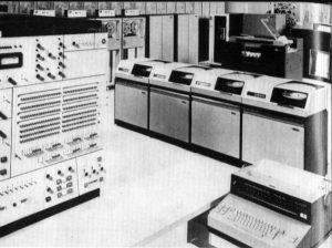 IBM 360 Computer, circa 1975