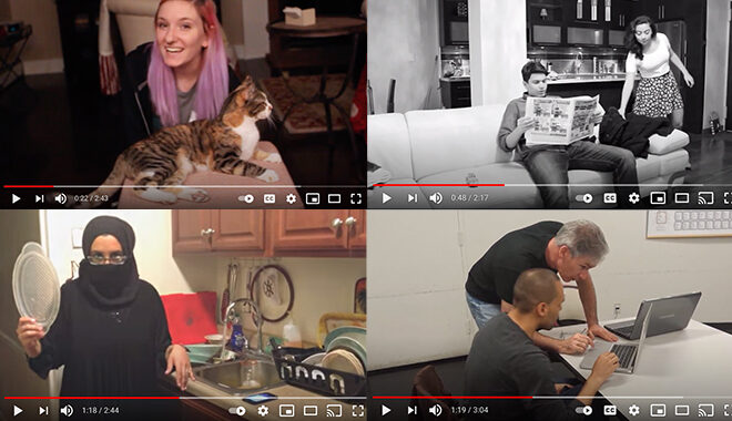 Students in youtube montage are apparent.